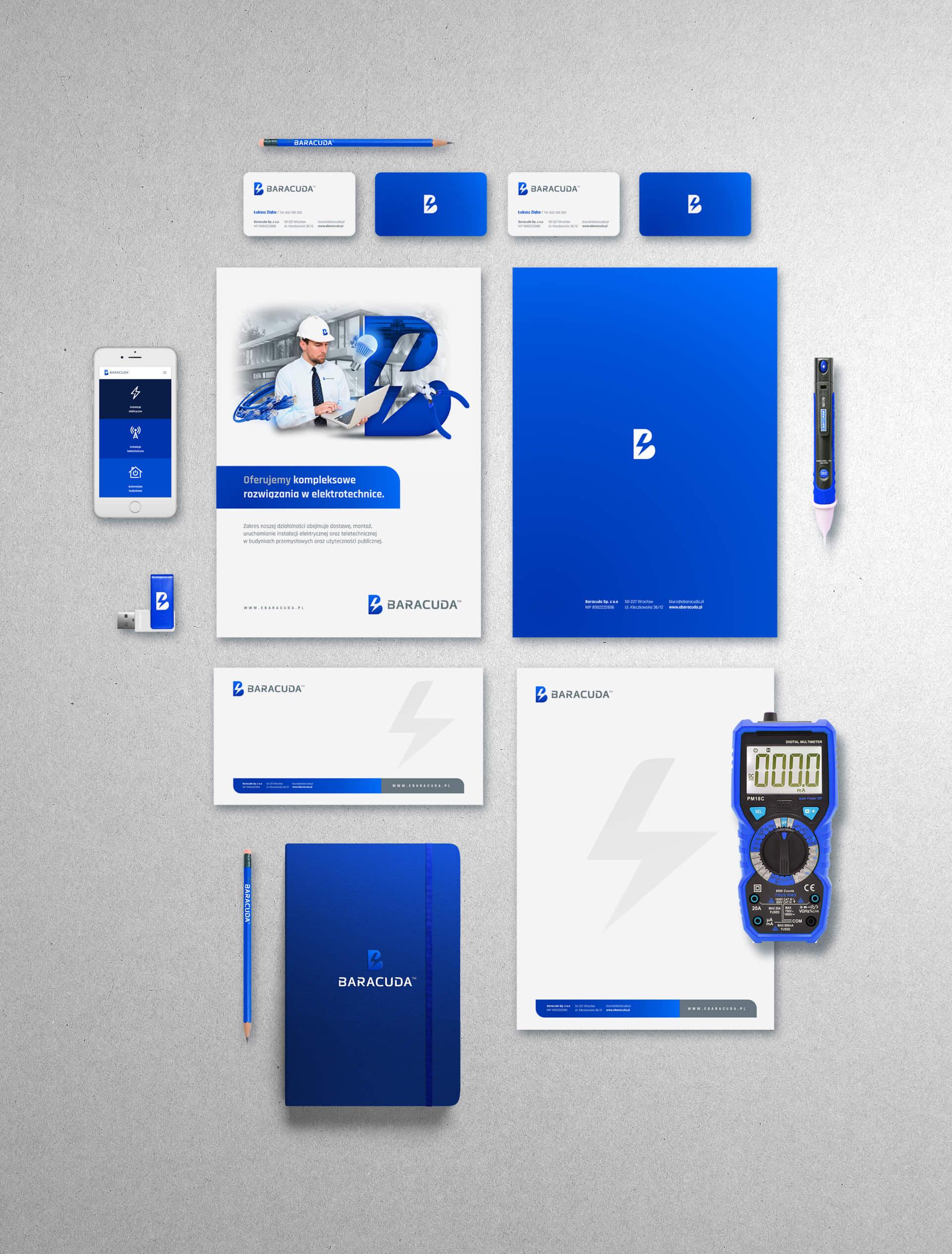 Branding firmy baracuda
