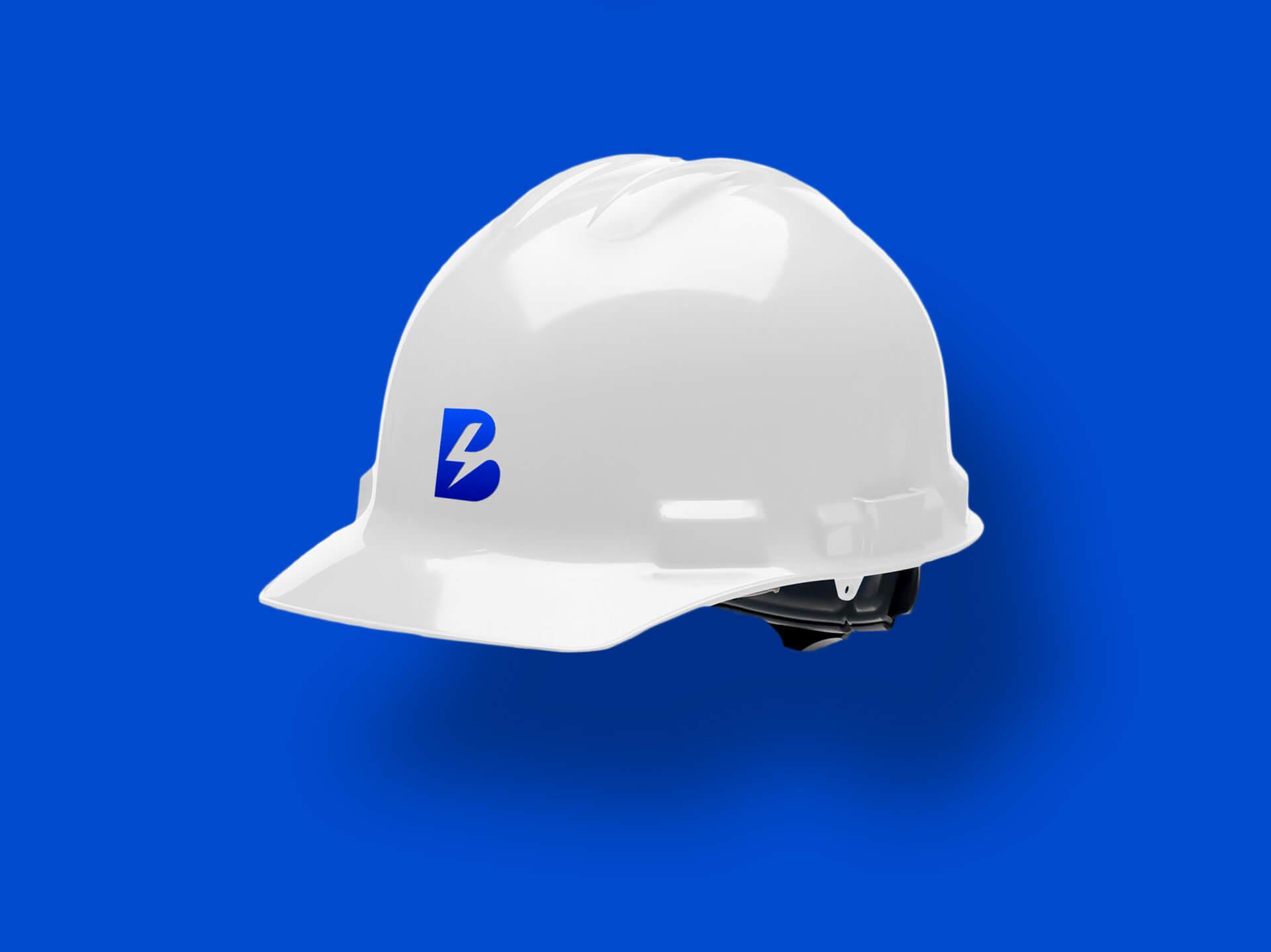 Projekt kasku ochronnego dla pracowników firmy baracuda