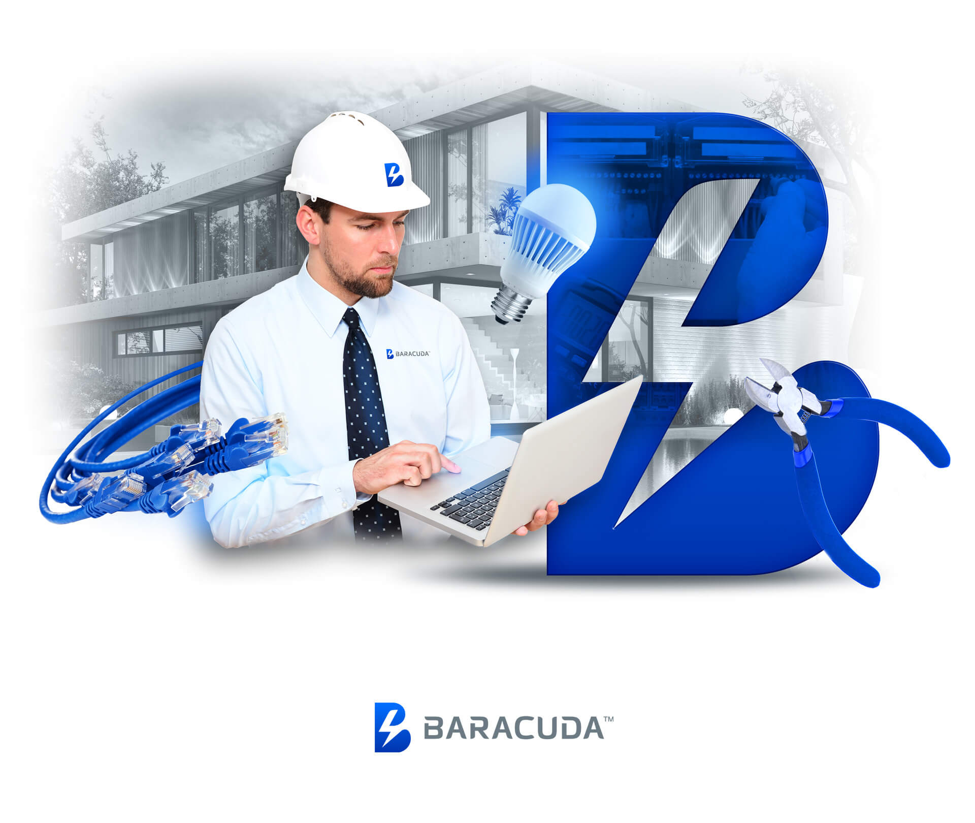 Baracuda projekt slider strony internetowej