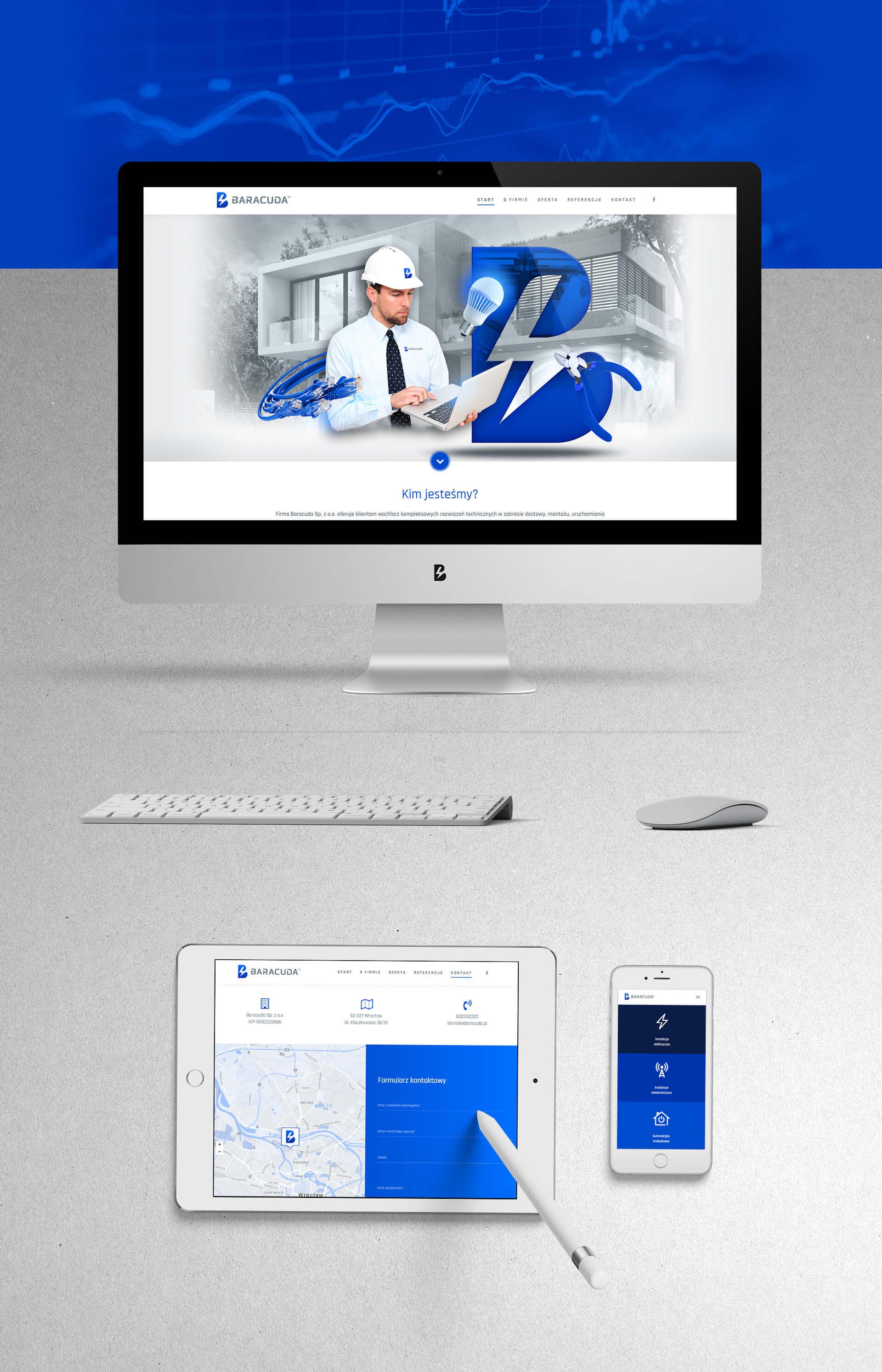 Projekt mobilnej strony internetowej