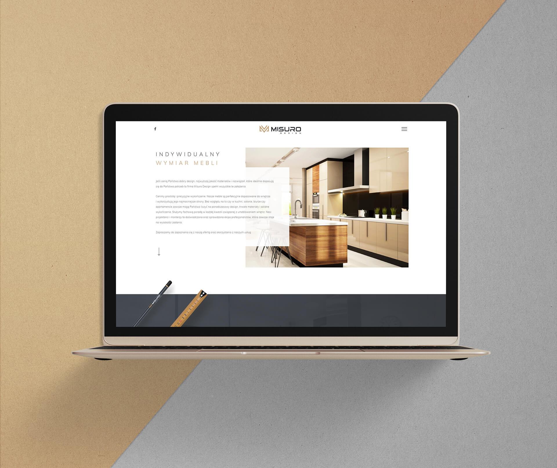 Projekt rensponsywnej strony internetowej