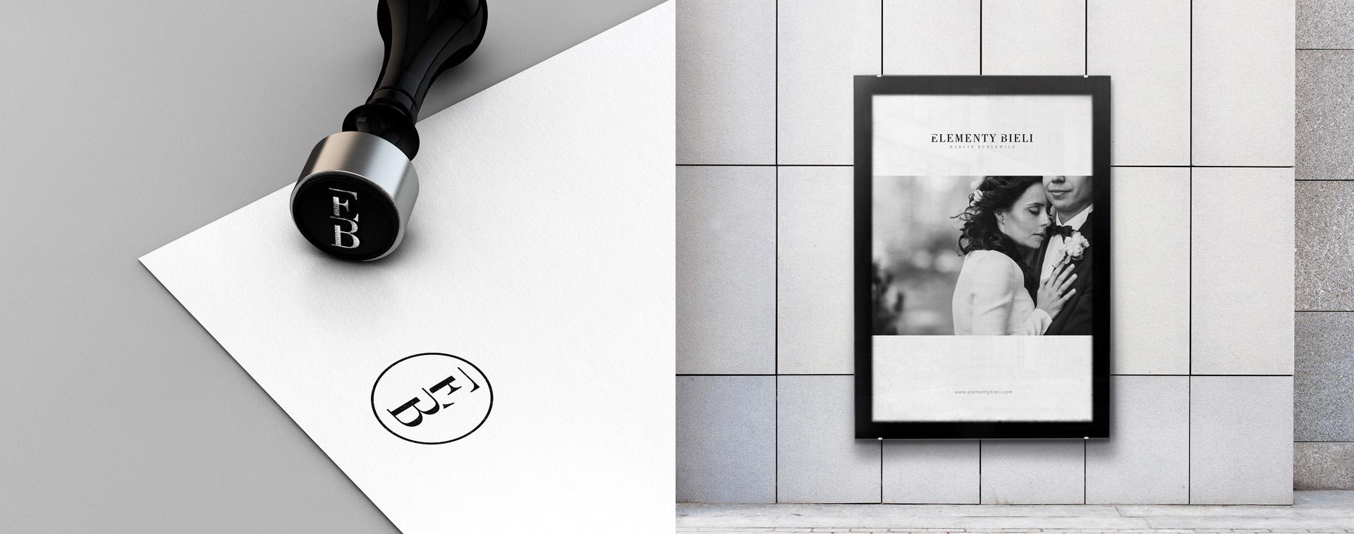Projekt stempla dla fotografa