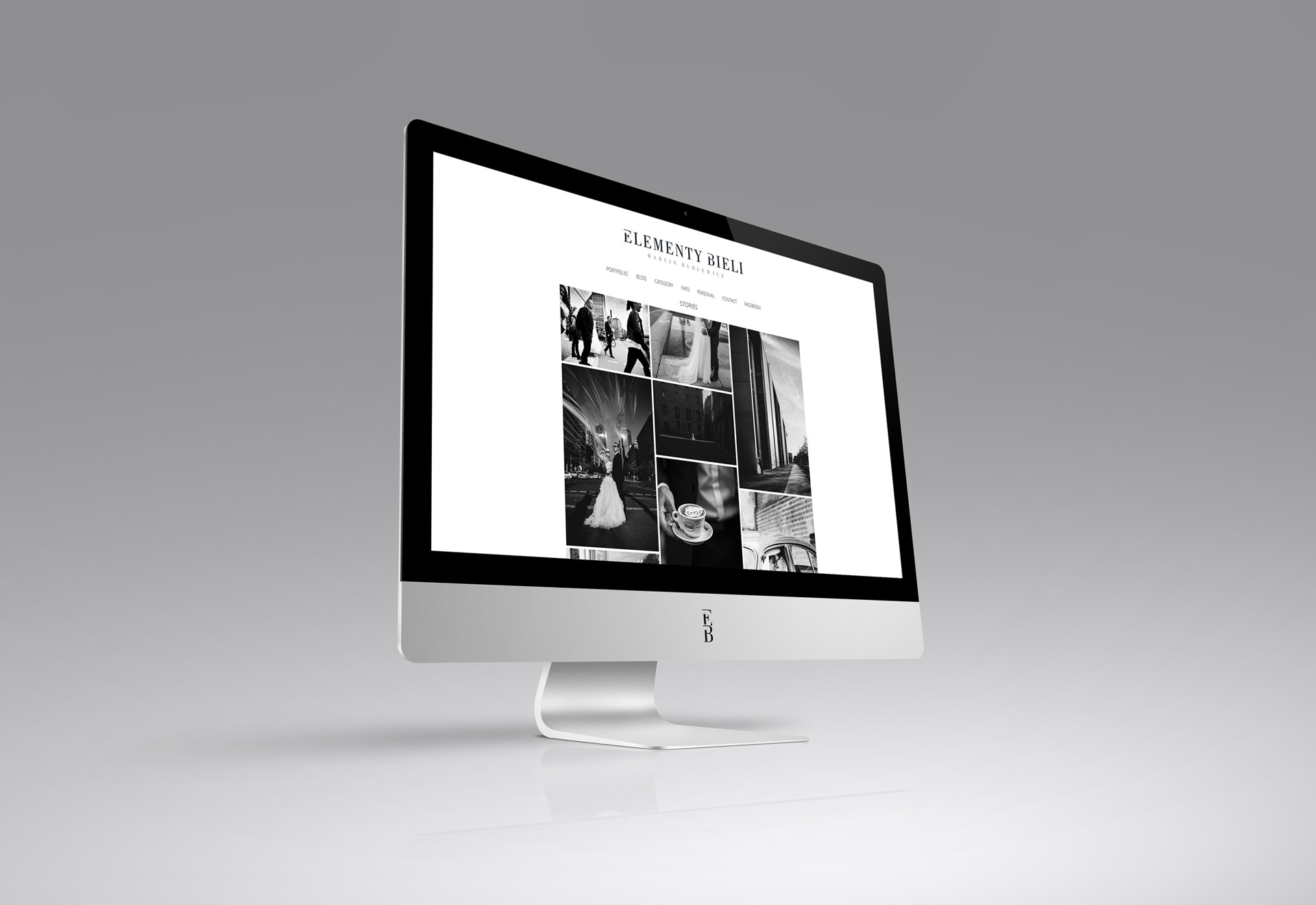 Projekt strony internetowej i portfolio dla fotografa
