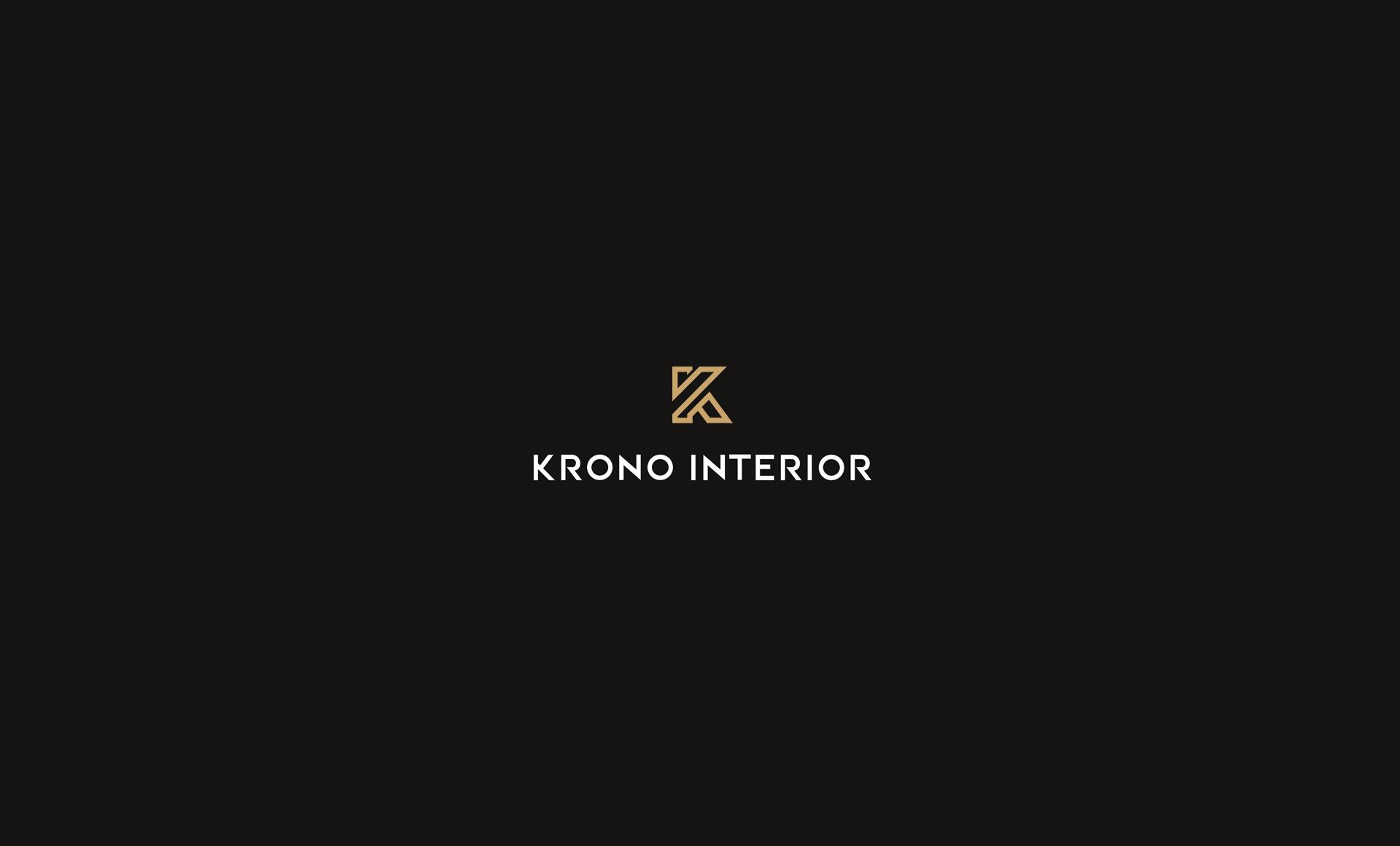Projekt logo krono interior