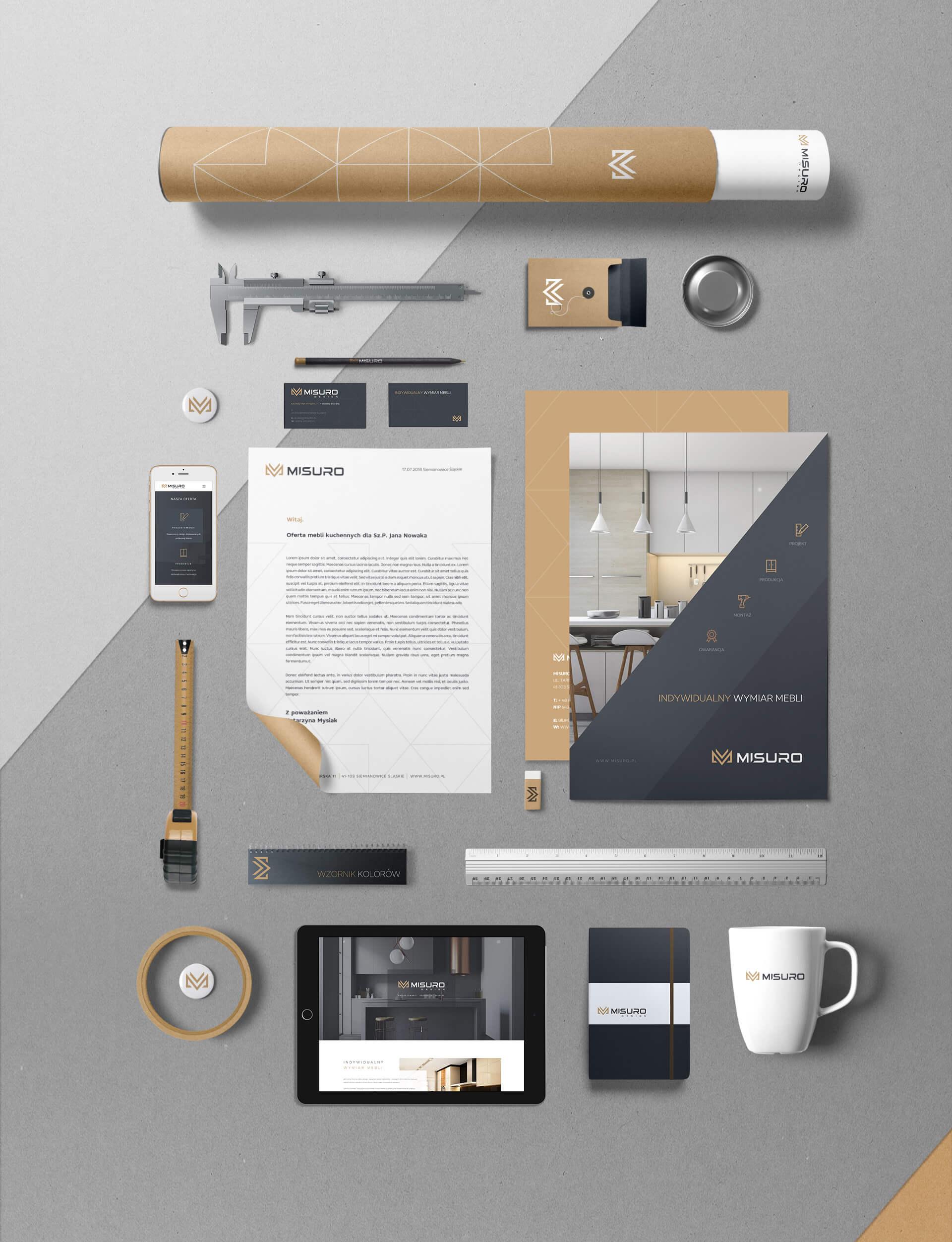 Identyfikacja wizualna misuro design