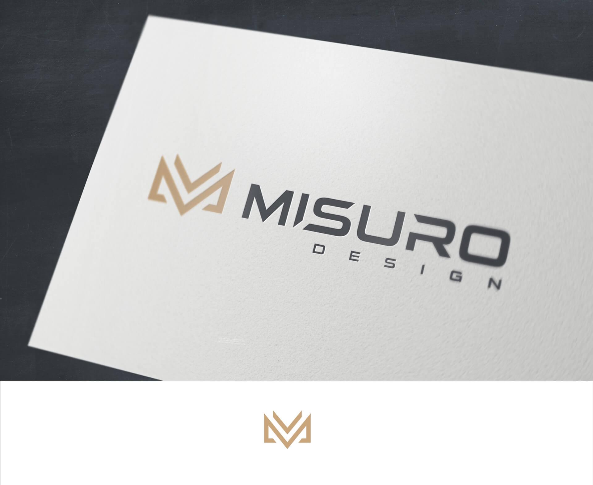 Logo Misuro Design - Nowoczesne projektowanie logo