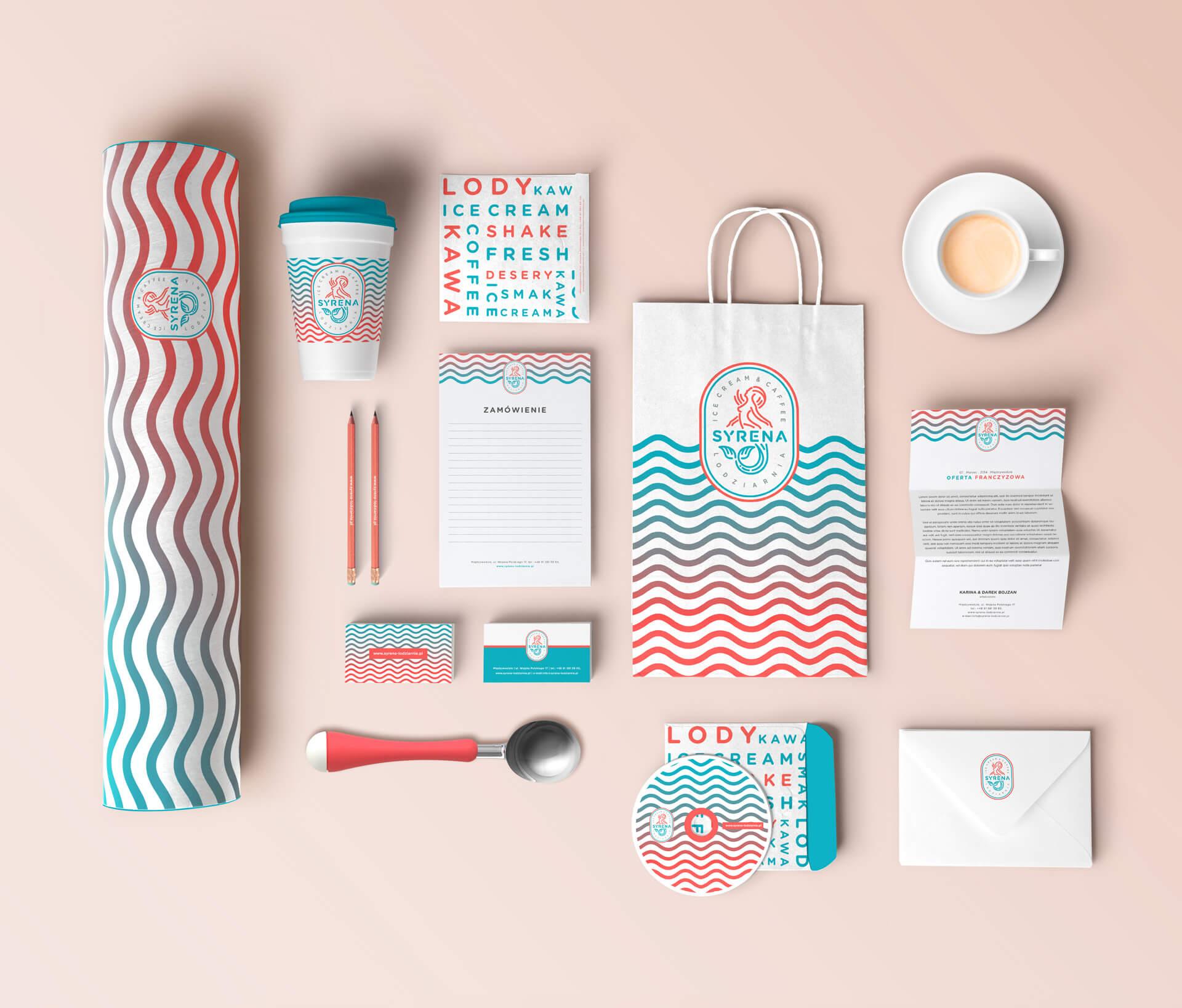 Branding i materiały promocyjne dla firmy Syrena