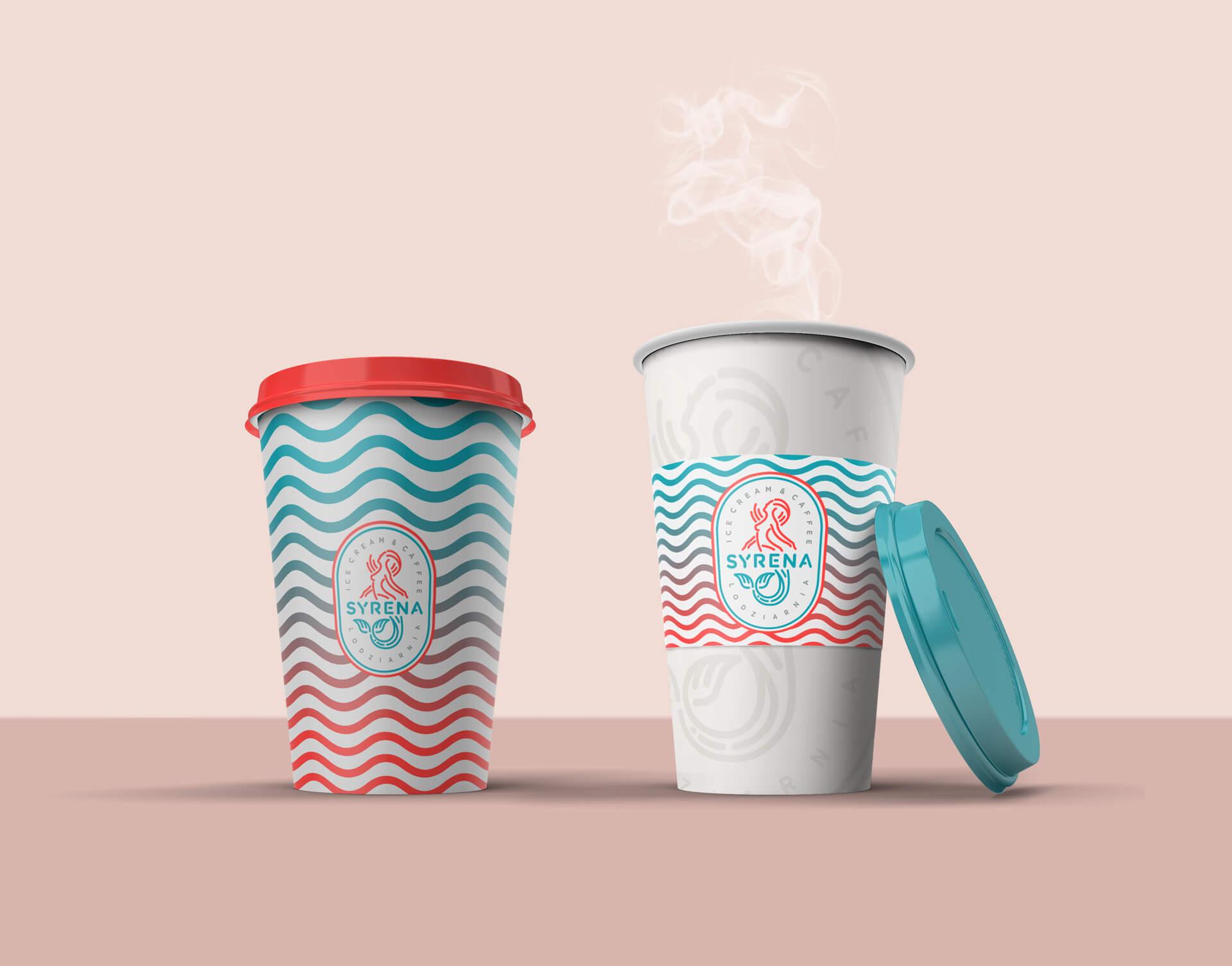 Projekt grafiki na kubek do kawy