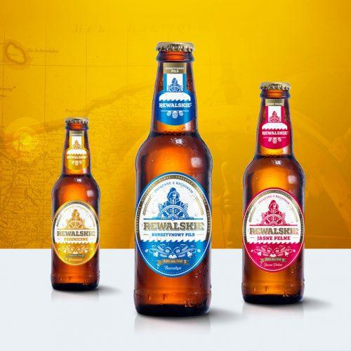 Piwo rewalskie projekt logo